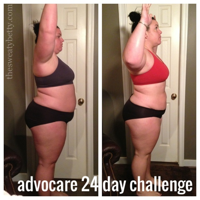 Advocare 24 Day Challenge Results Sweaty Betty