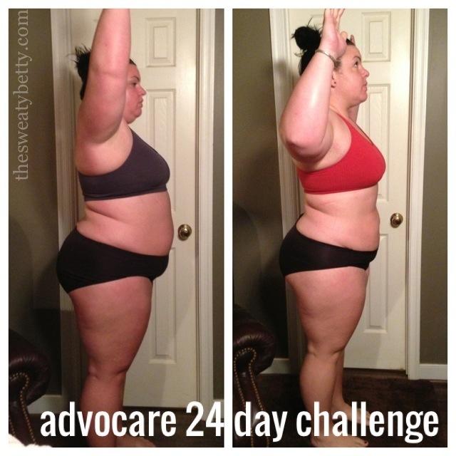 Advocare 24 Day Challenge Sweaty Betty